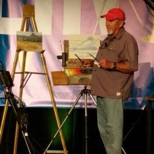 Laguna Plein Air Artist George Strickland