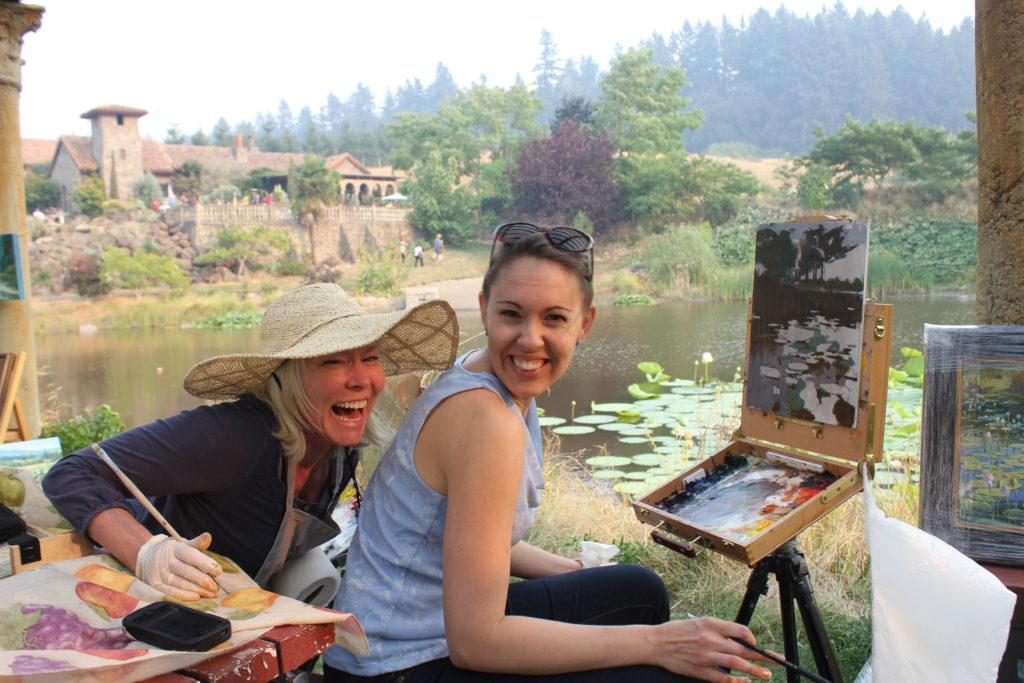LPAPA Signature Artists Brenda Boylan & Jennifer Diehl