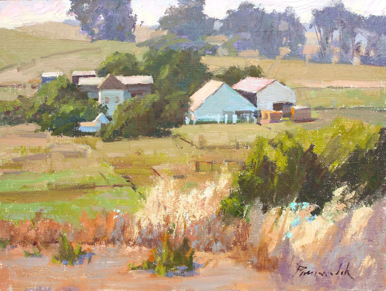 LPAPA Signature Artist Camille Przewodek painting workshop
