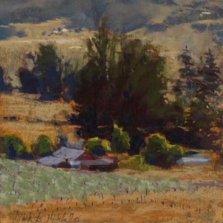 Clark Mitchell Painting workshop