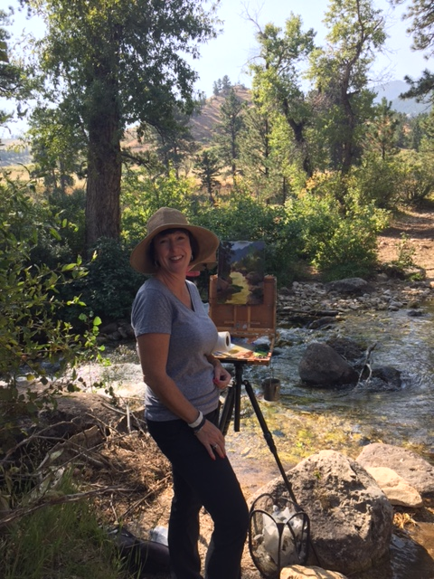 Laguna Plein Air Artist Ellen Howard