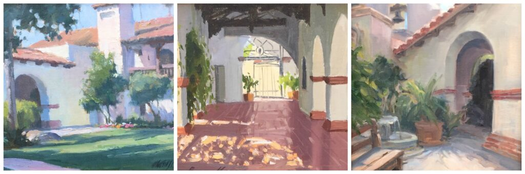 Award Winning Laguna Plein Air Paintings