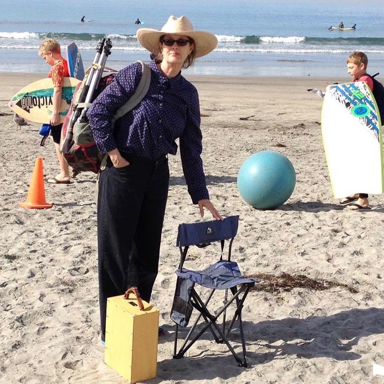 Laguna Plein Air Invitational Artist Peggi Kroll-Roberts