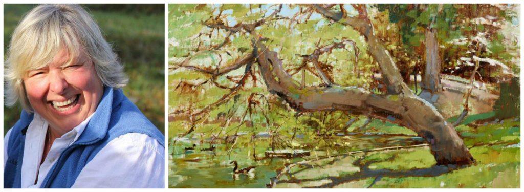 Laguna Plein Air Artist Kathie Odom