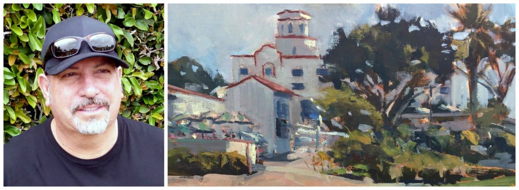 Laguna Plein Air Artist Anthony Salvo