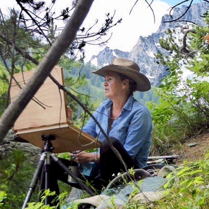 Laguna Plein Air Invitational Artist Cindy Baron