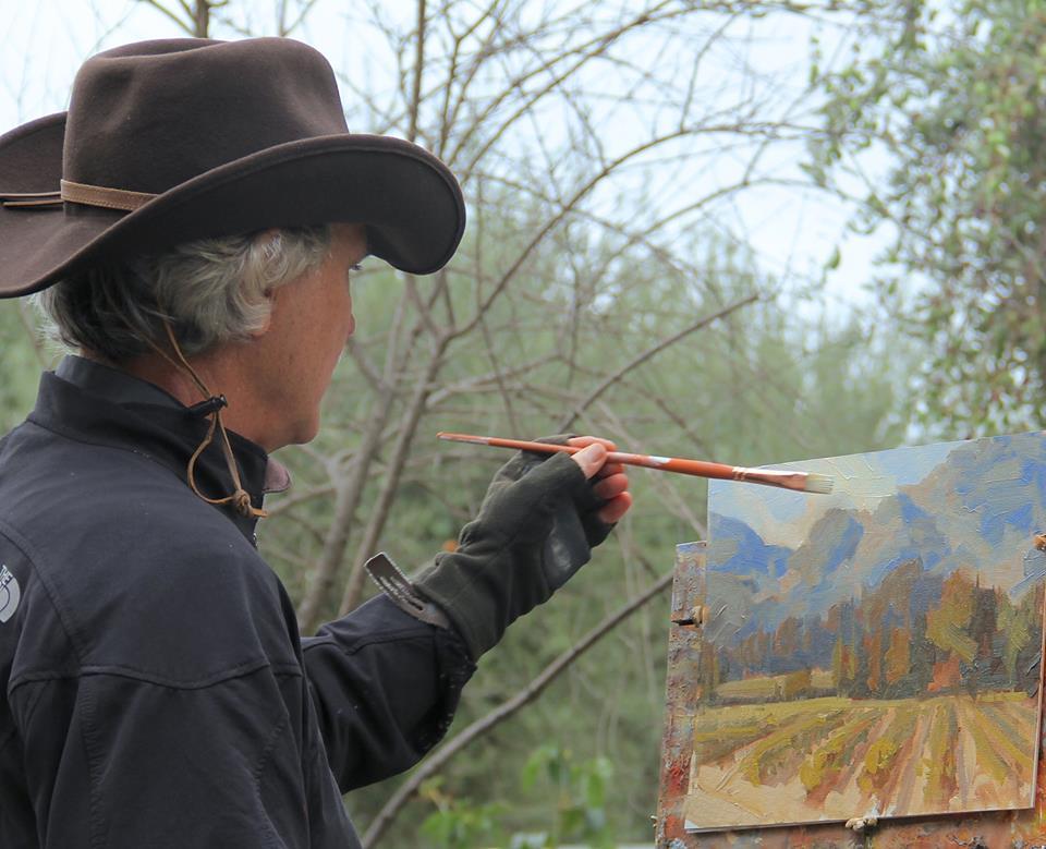 Laguna Plein Air Artist Bill Davidson