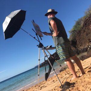 Laguna Plein Air Artist Patrick Saunders