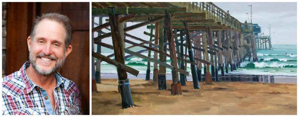 Laguna Plein Air Invitational Artist Greg LaRock