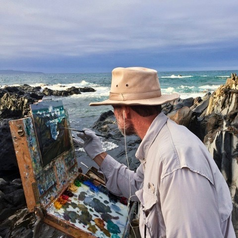 Laguna Plein Air Signature Artist Greg LaRock
