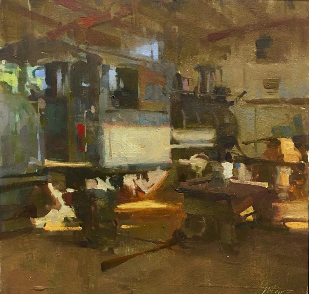 Laguna Plein Air Artist Larry Moore