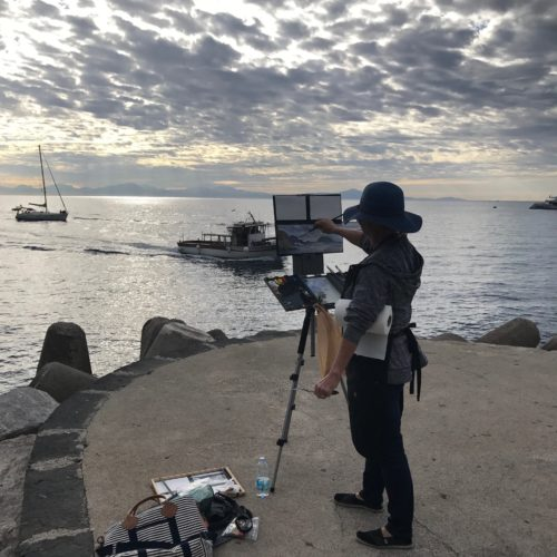Laguna Plein Air Artist Mary Garrish