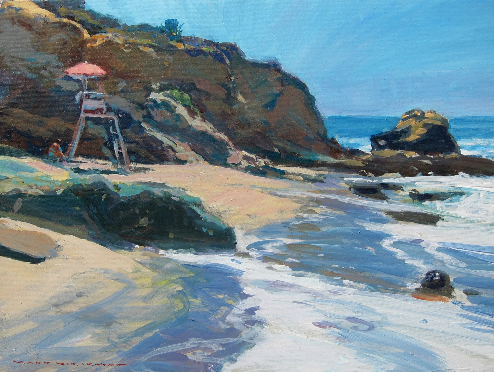 Laguna Plein Air Invitational Artist Mark Kerckhoff