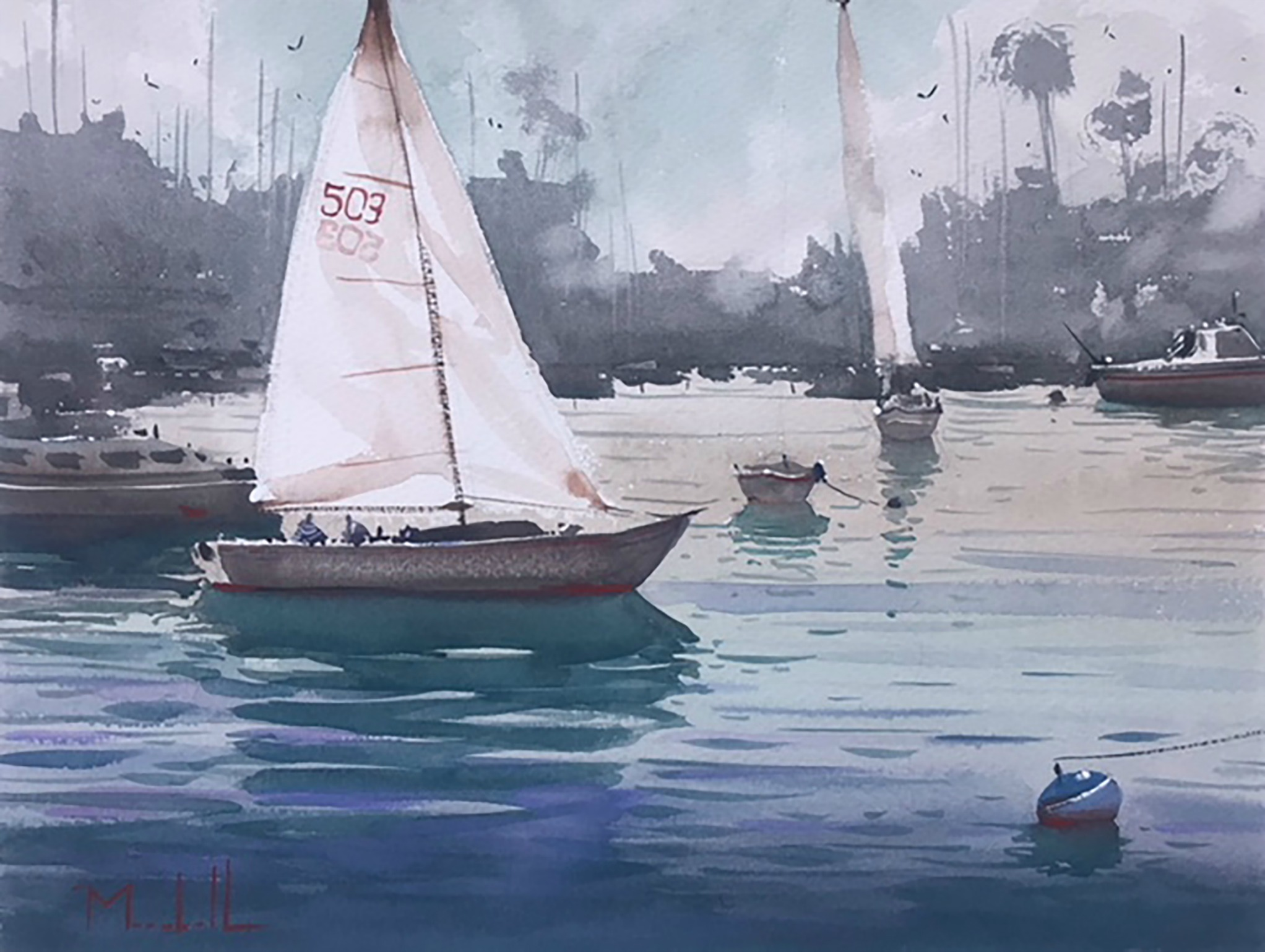 Laguna Plein Air Invitational Artist Daniel Marshall