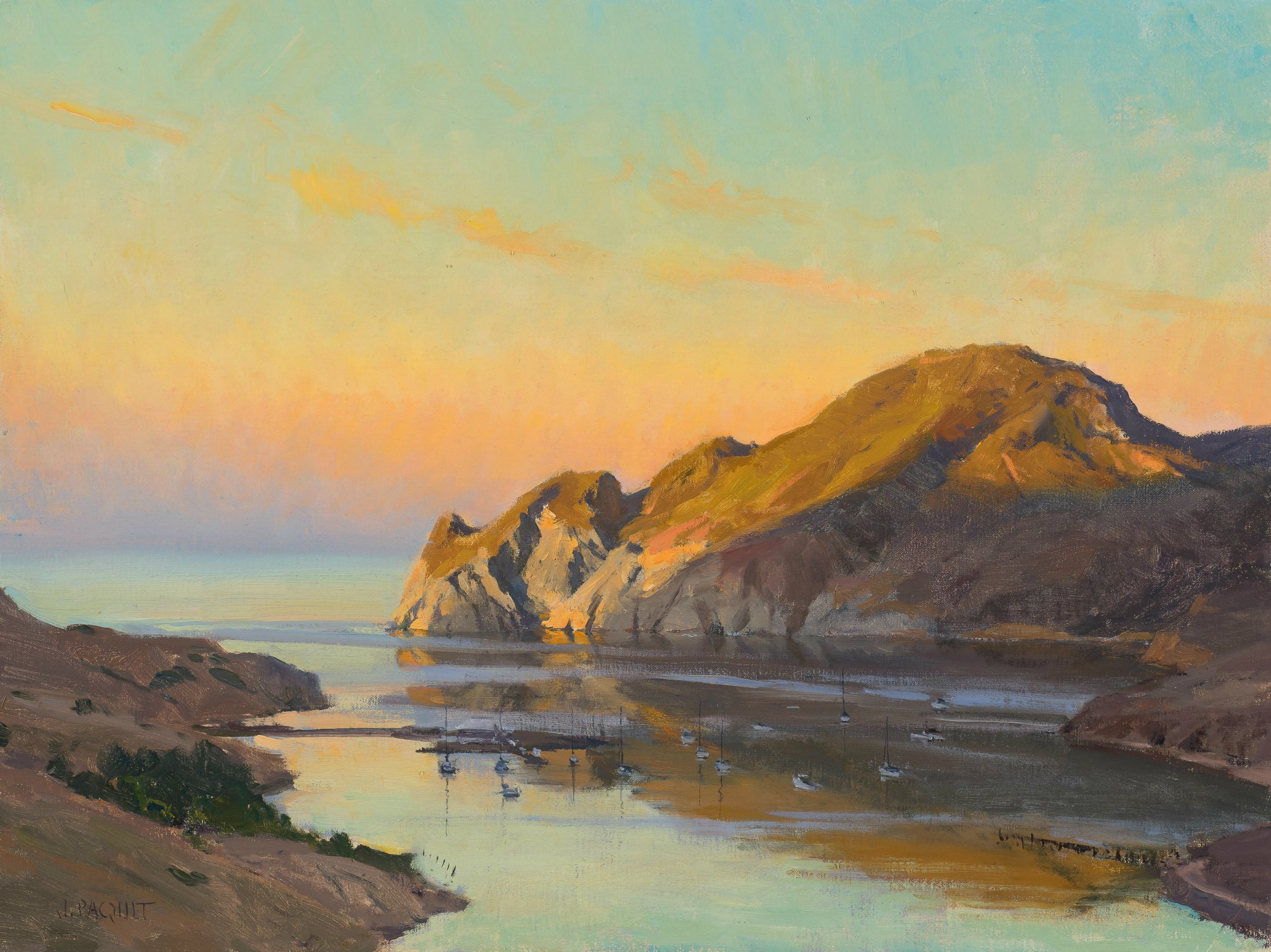 Laguna Plein Air Invitational Artist Joe Paquet