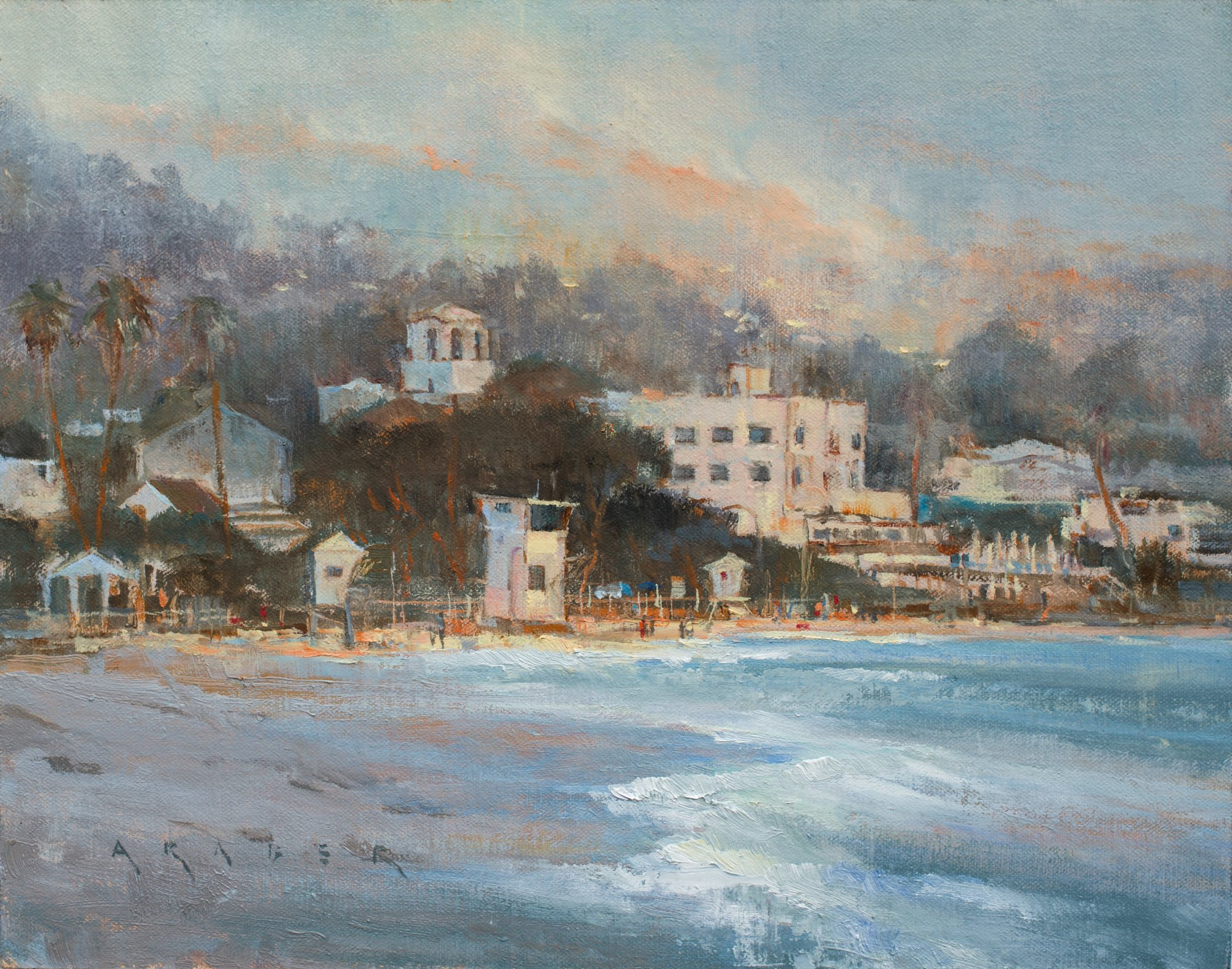 Laguna Plein Air Invitational Artist April Raber