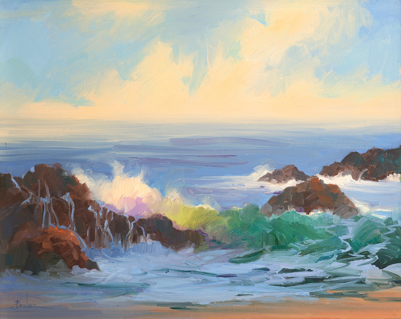 Laguna Plein Air Invitational Artist Cynthia Britain