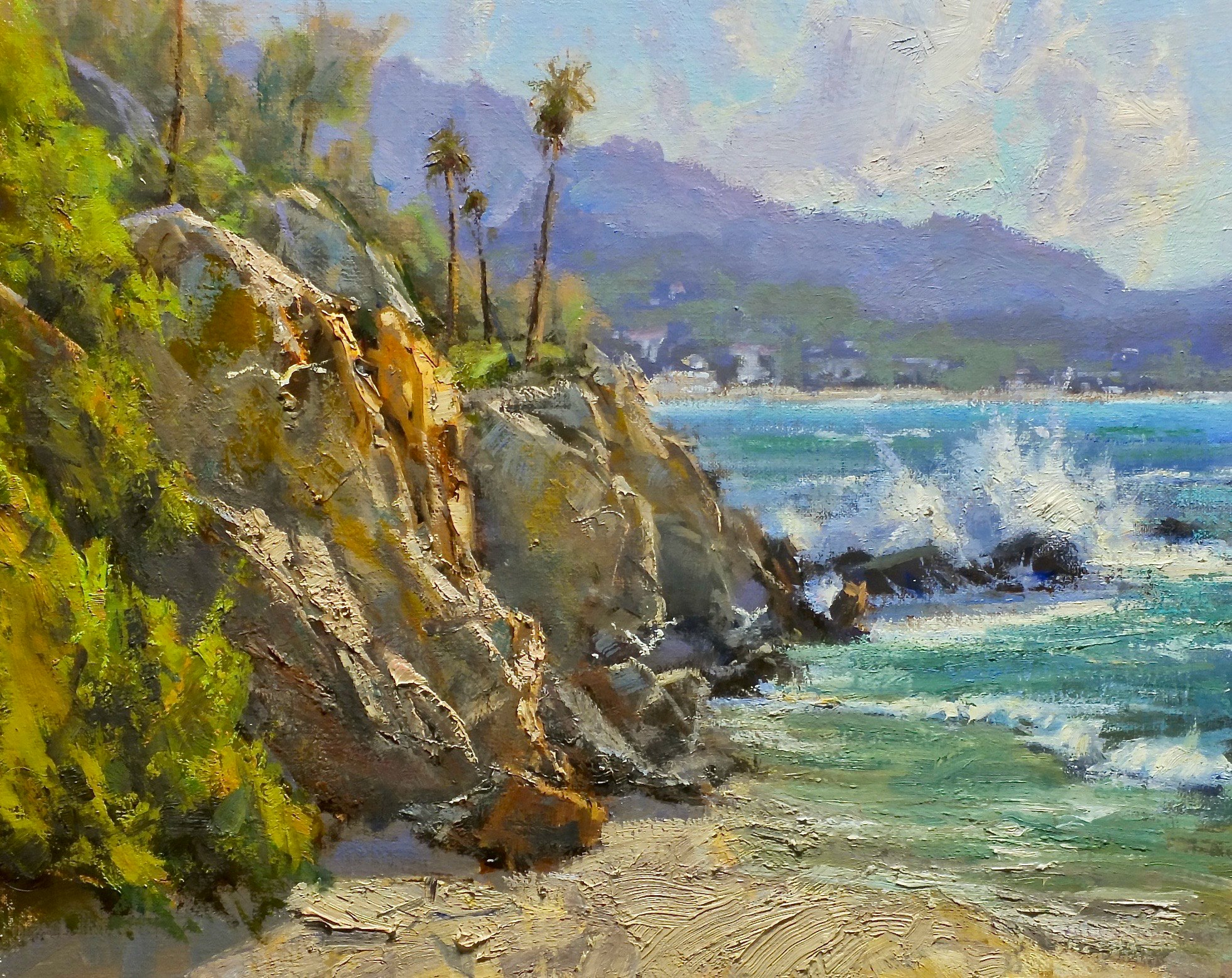 Laguna Plein Air Invitational Artist Bill Davidson