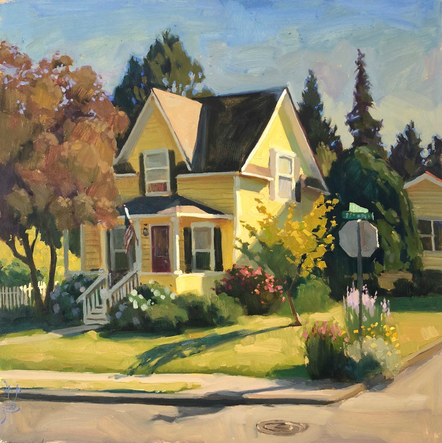 Laguna Plein Air Invitational Artist Jennifer Diehl