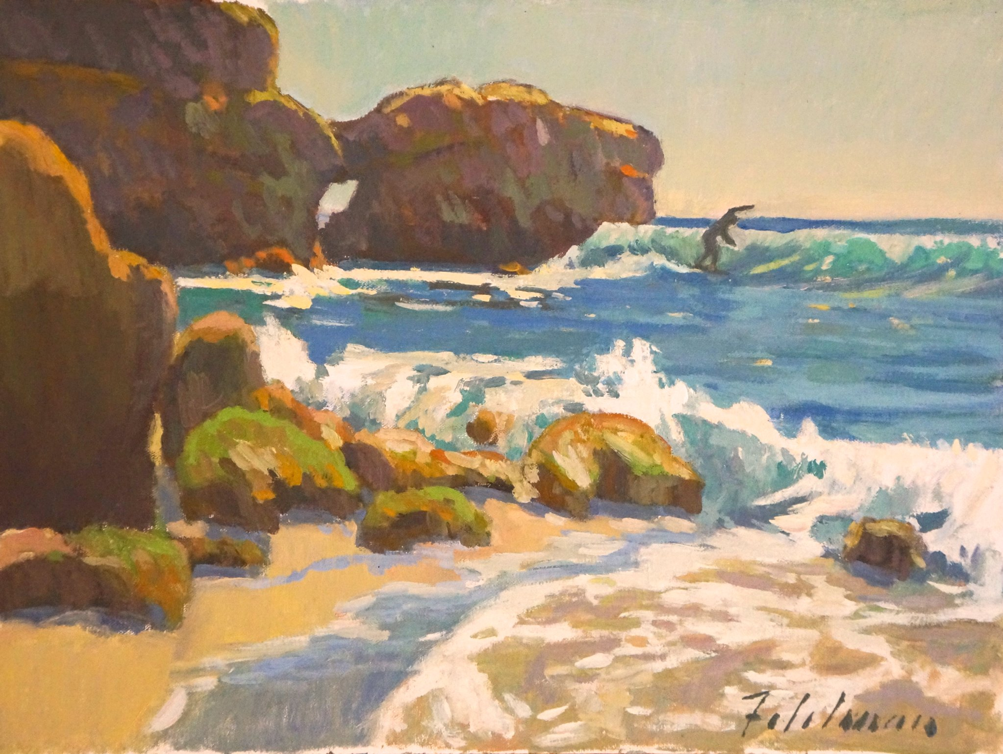 Laguna Plein Air Invitational Artist Mark Fehlman
