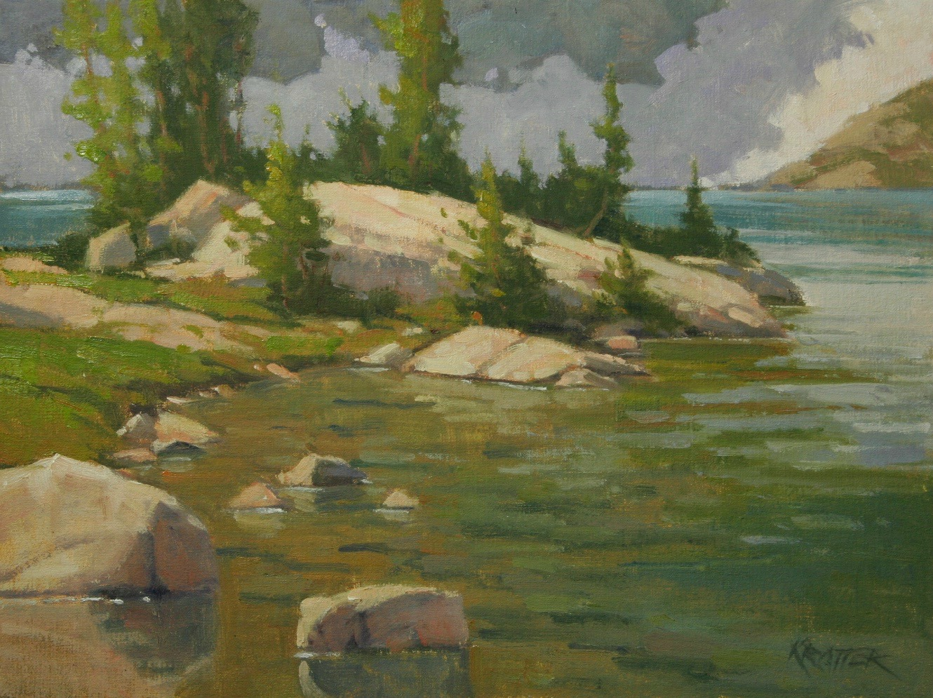 Laguna Plein Air Invitational Artist Paul Kratter