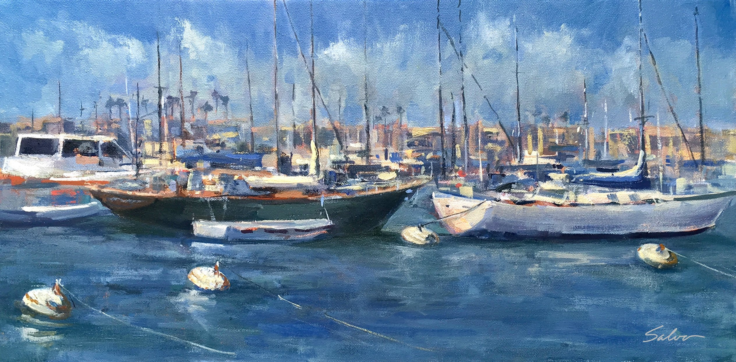 Laguna Plein Air Invitational Artist Anthony Salvo