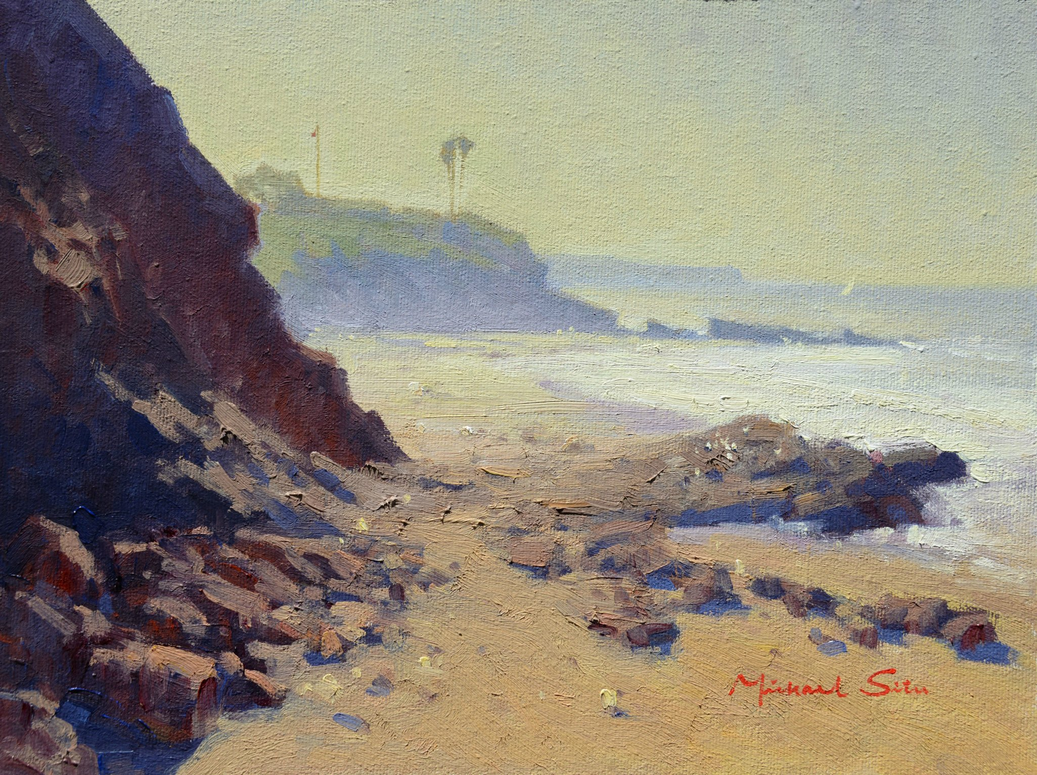 Laguna Plein Air Invitational Artist Michael Situ