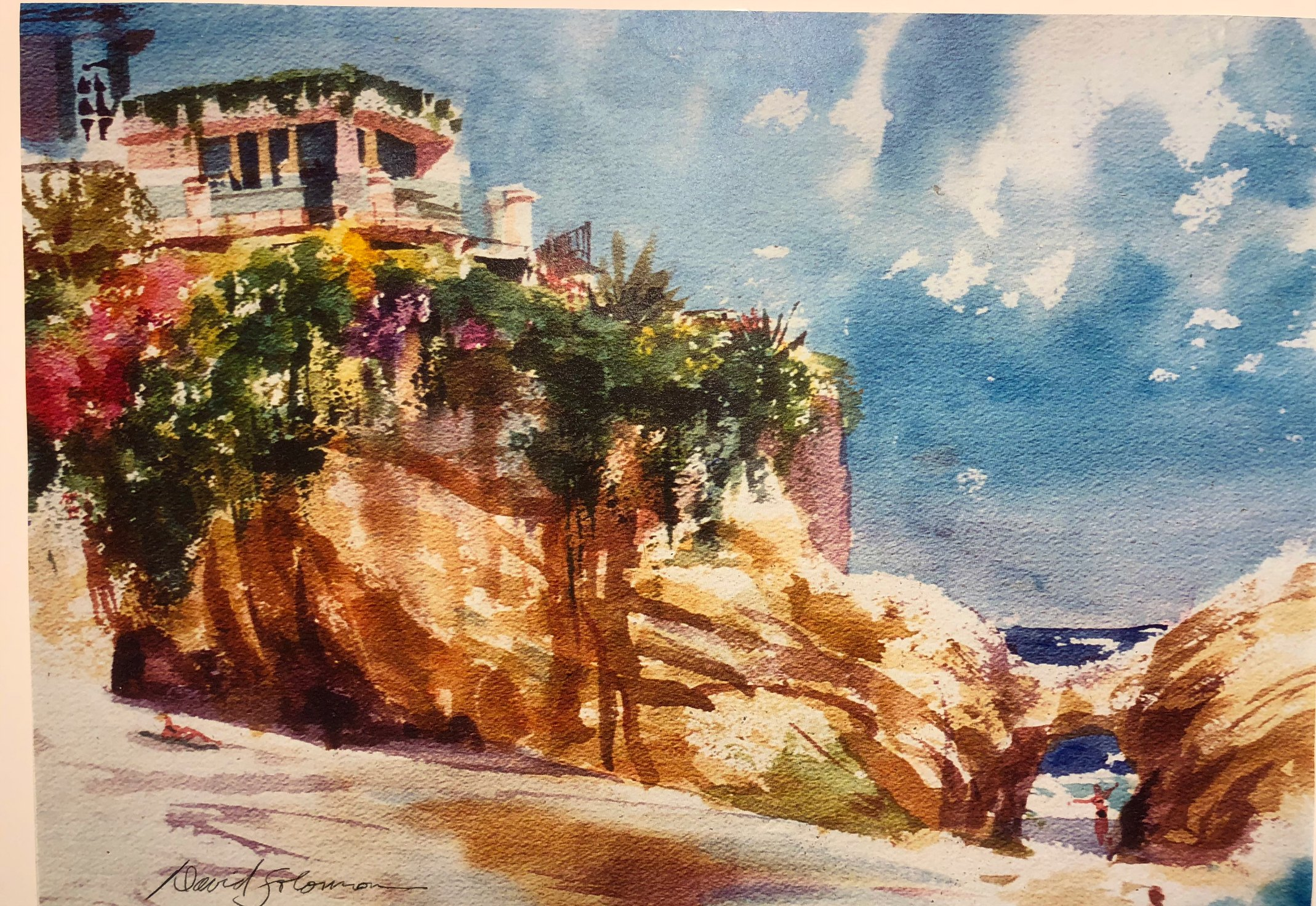 Laguna Plein Air Invitational Artist David Solomon