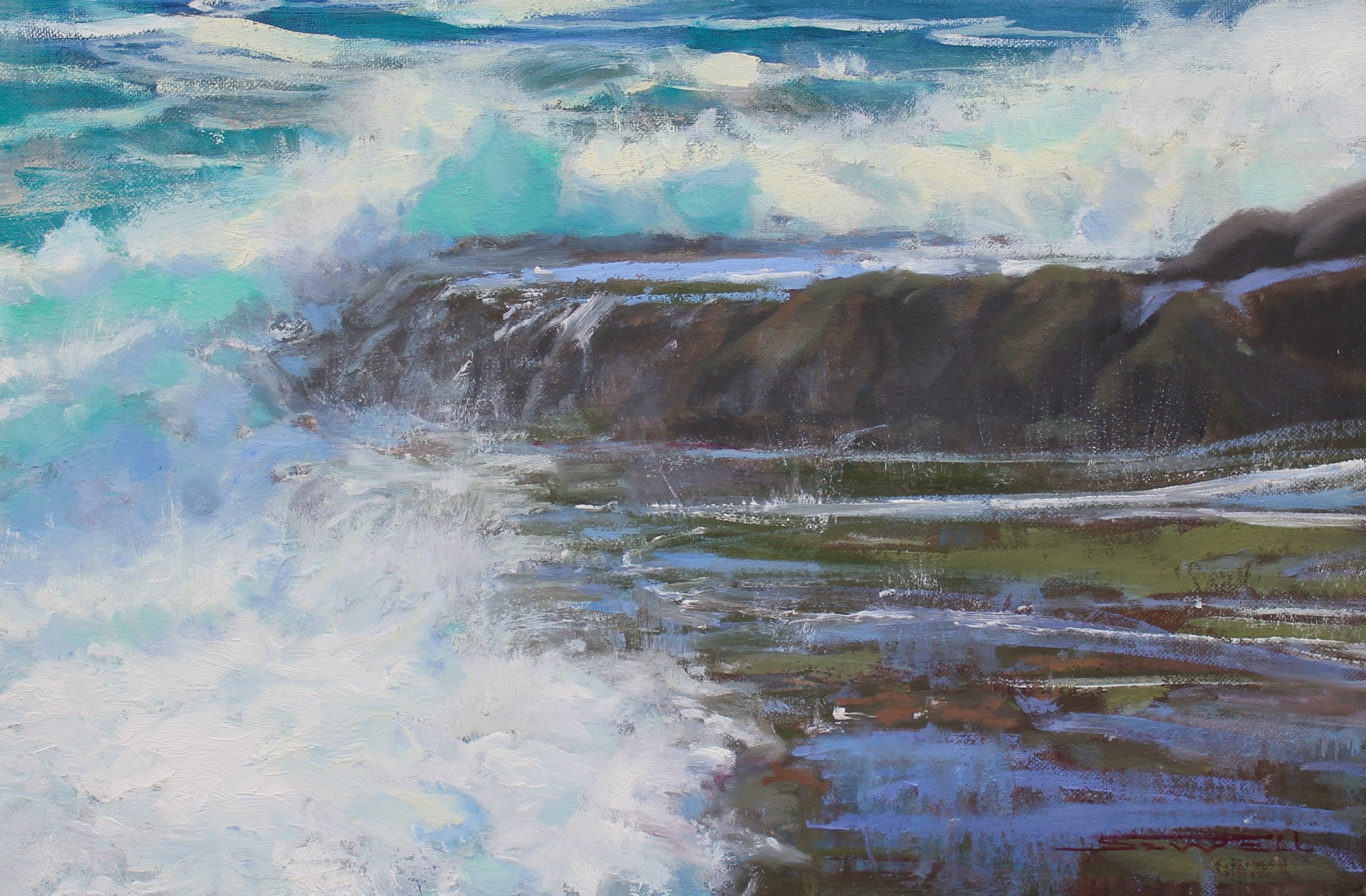 Laguna Plein Air Invitational Artist Jeff Sewell