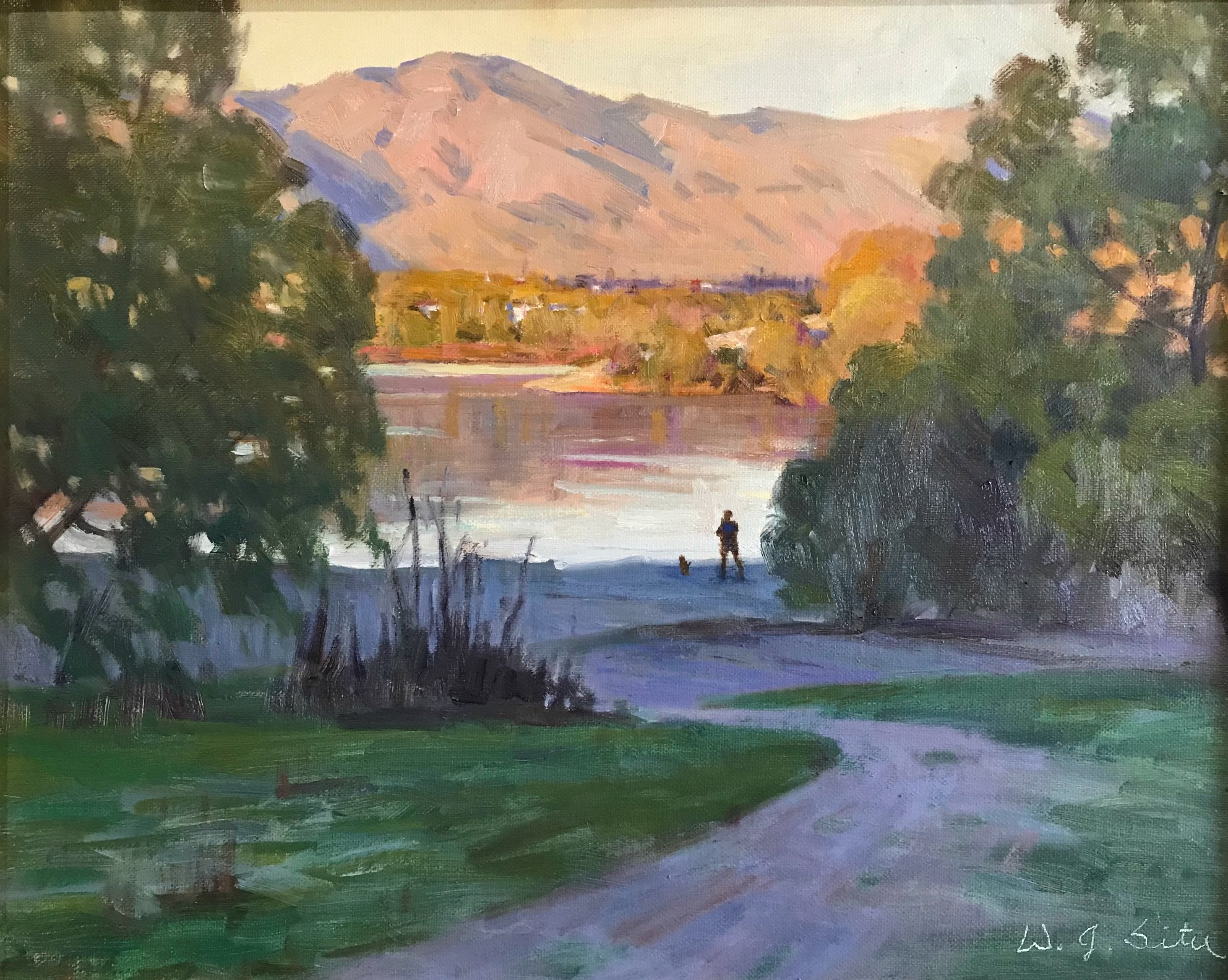 Laguna Plein Air Invitational Artist W. Jason Situ