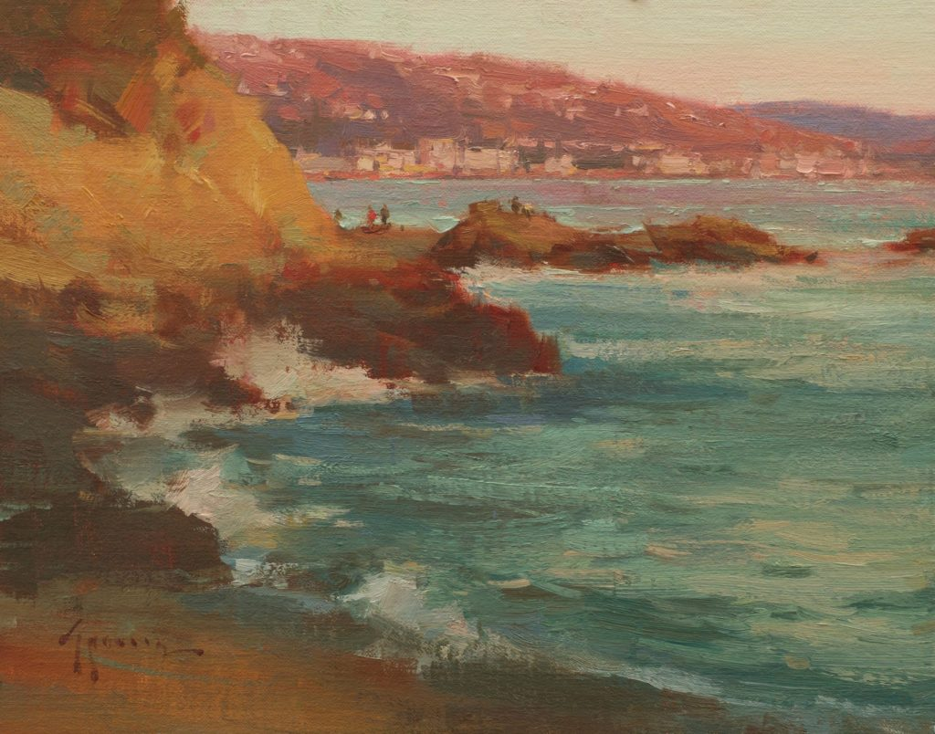 Laguna Plein Air Invitational Artist J. Ken Spencer