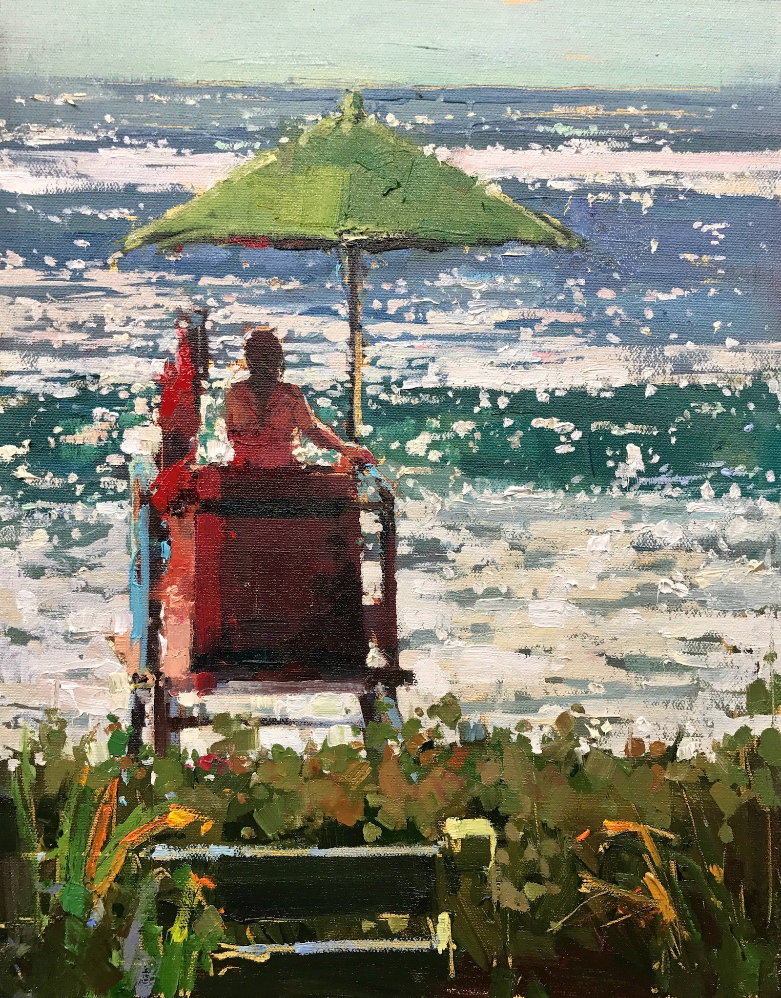 Laguna Plein Air Invitational Artist Michele Usibelli