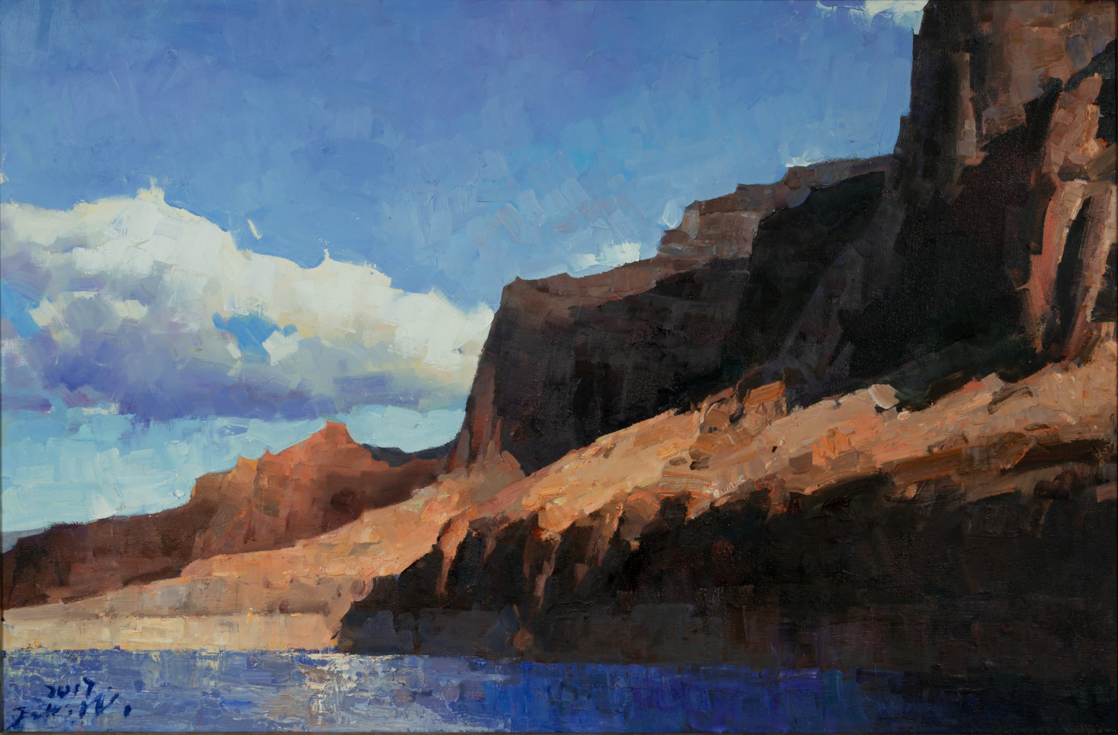 Laguna Plein Air Invitational Artist Jove Wang