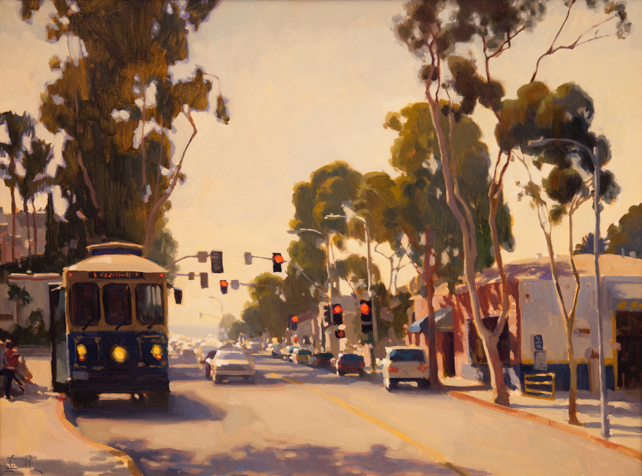 Laguna Plein Air Invitational Awards On Broadway by Jennifer Diehl