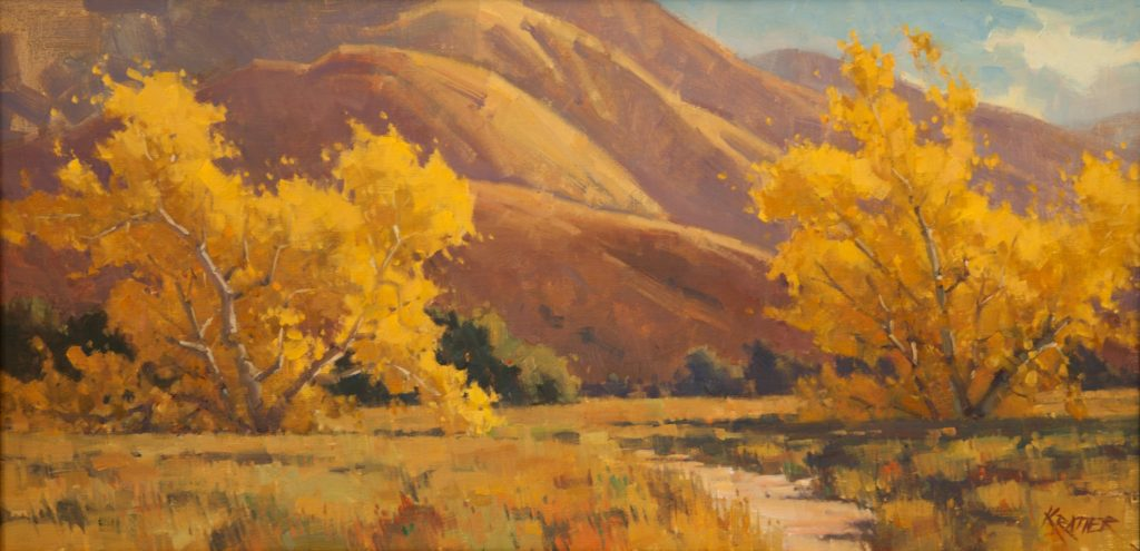 Laguna Plein Air Invitational Awards Paul Kratter
