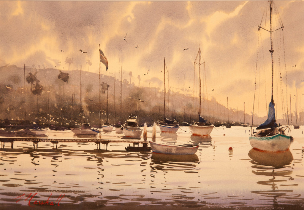 Laguna Plein Air Invitational Awards Daniel Marshall