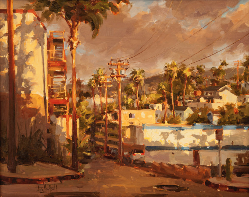 Laguna Plein Air Invitational Architectural Award Dan Mondloch