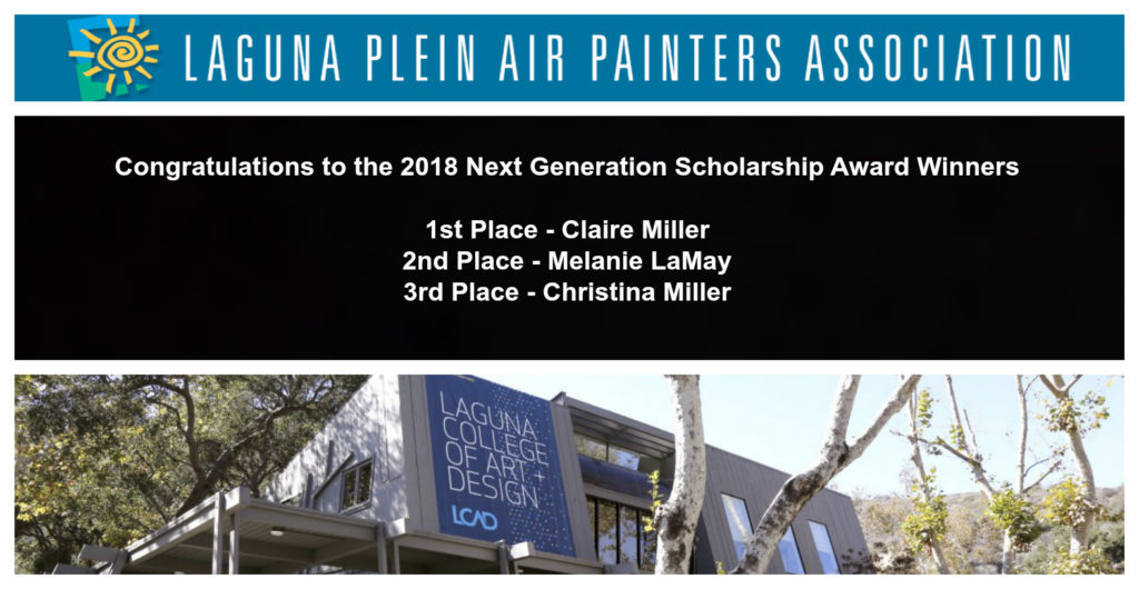 Laguna Plein Air Invitational Next Generation