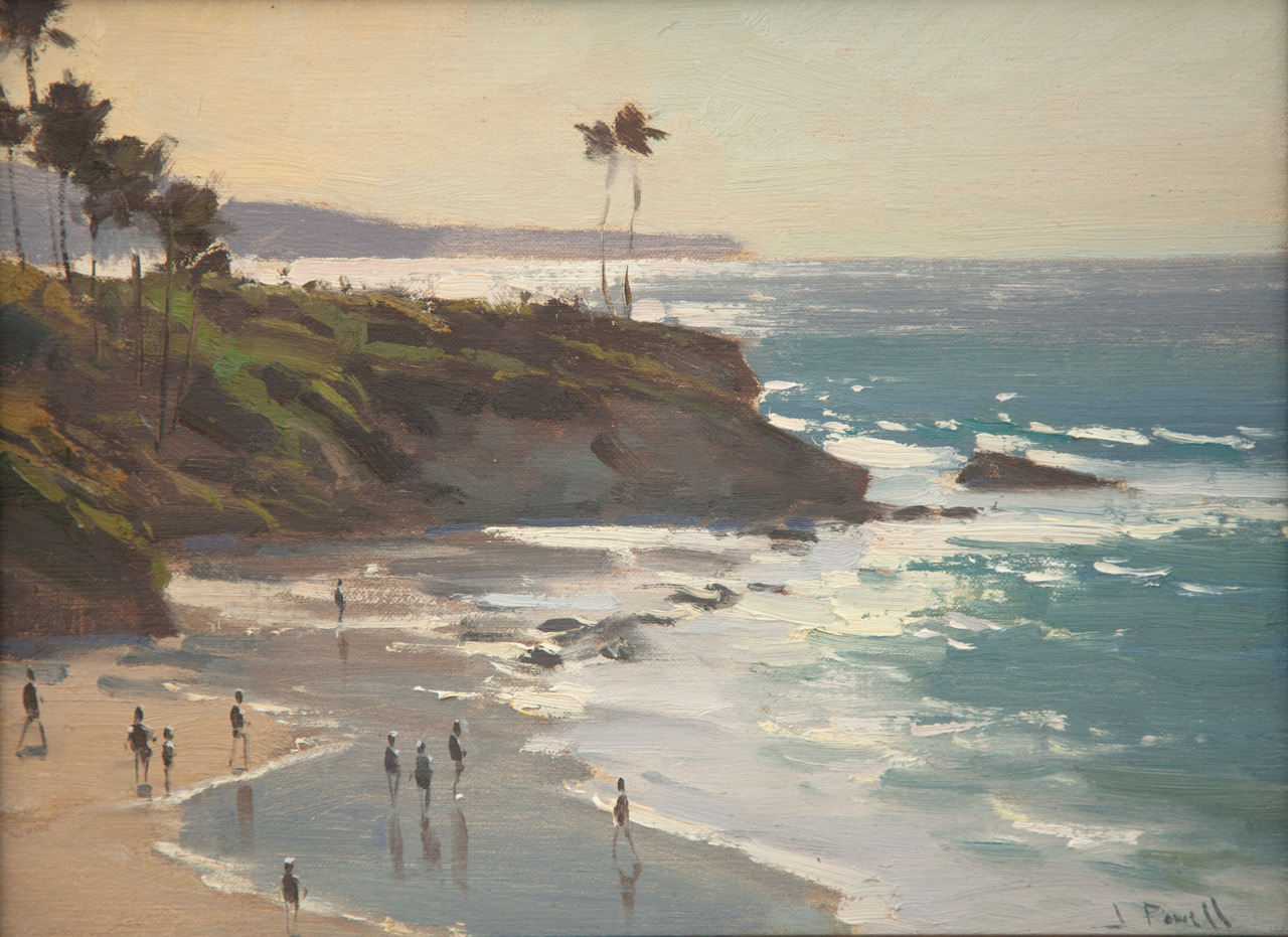 Laguna Plein Air Invitational Awards Jesse Powell