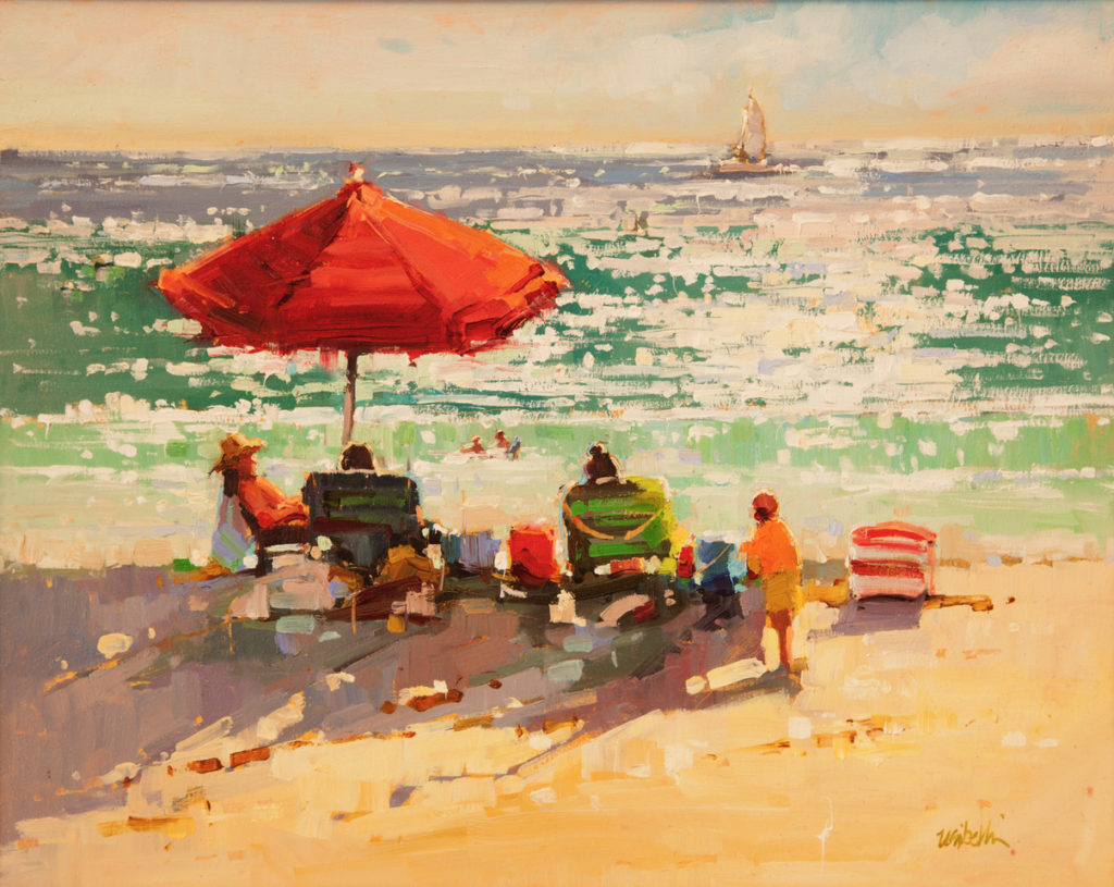 Laguna Plein Air Invitational Awards Michele Usibelli
