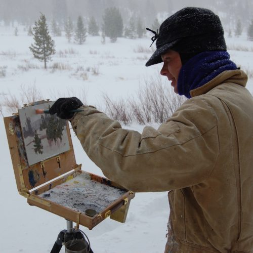 Laguna Plein Air Signature Artist Aaron Schuerr