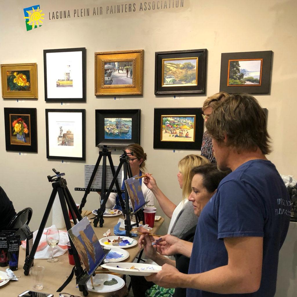 LPAPA Tasteful Palette painting class