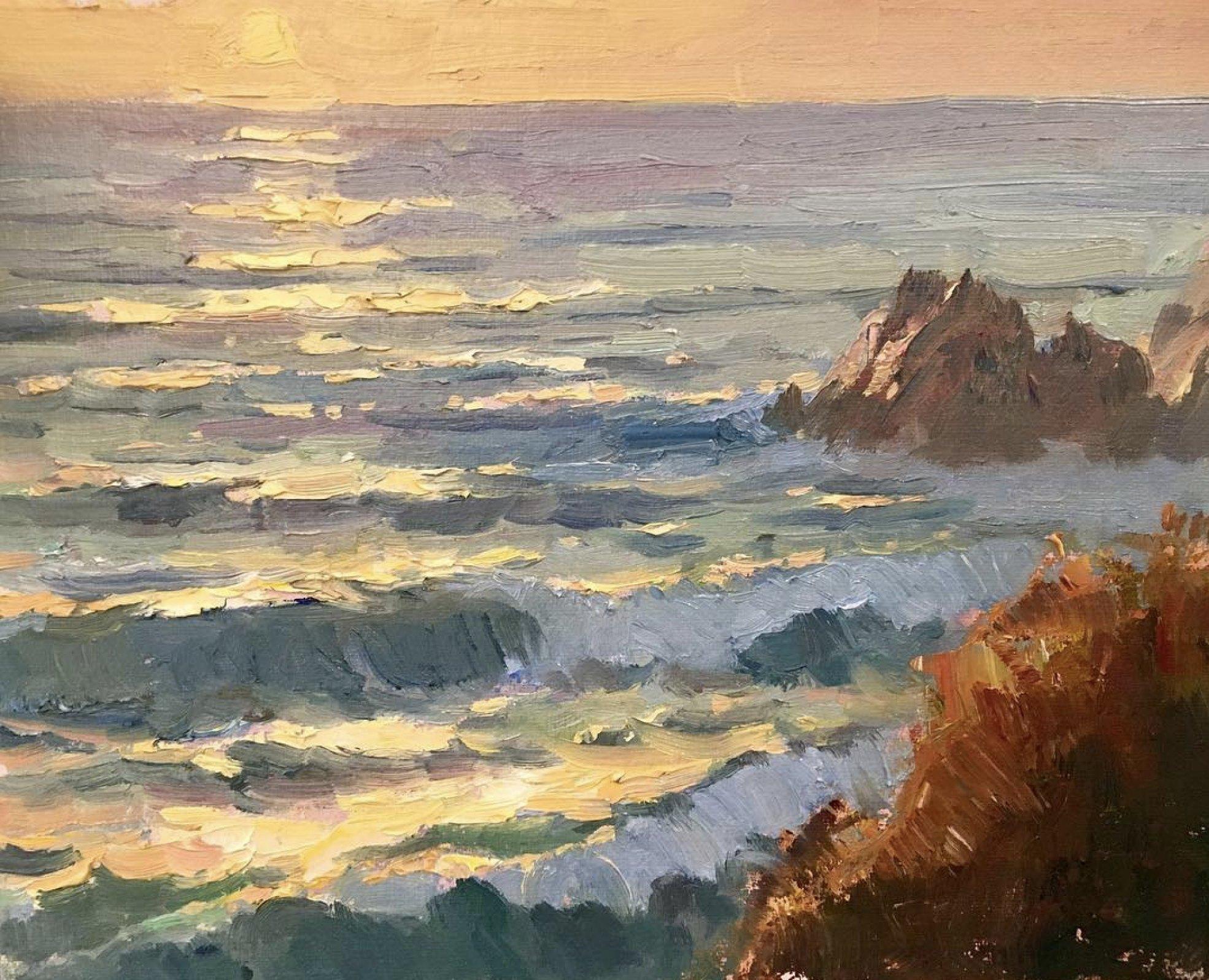 LPAPA Signature Artist Michael Obermeyer seascapes painting workshop