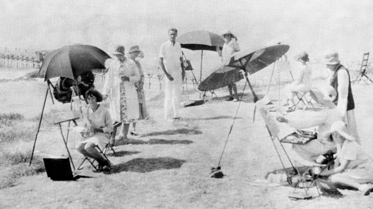 Plein Air Artist Thomas L. Hunt
