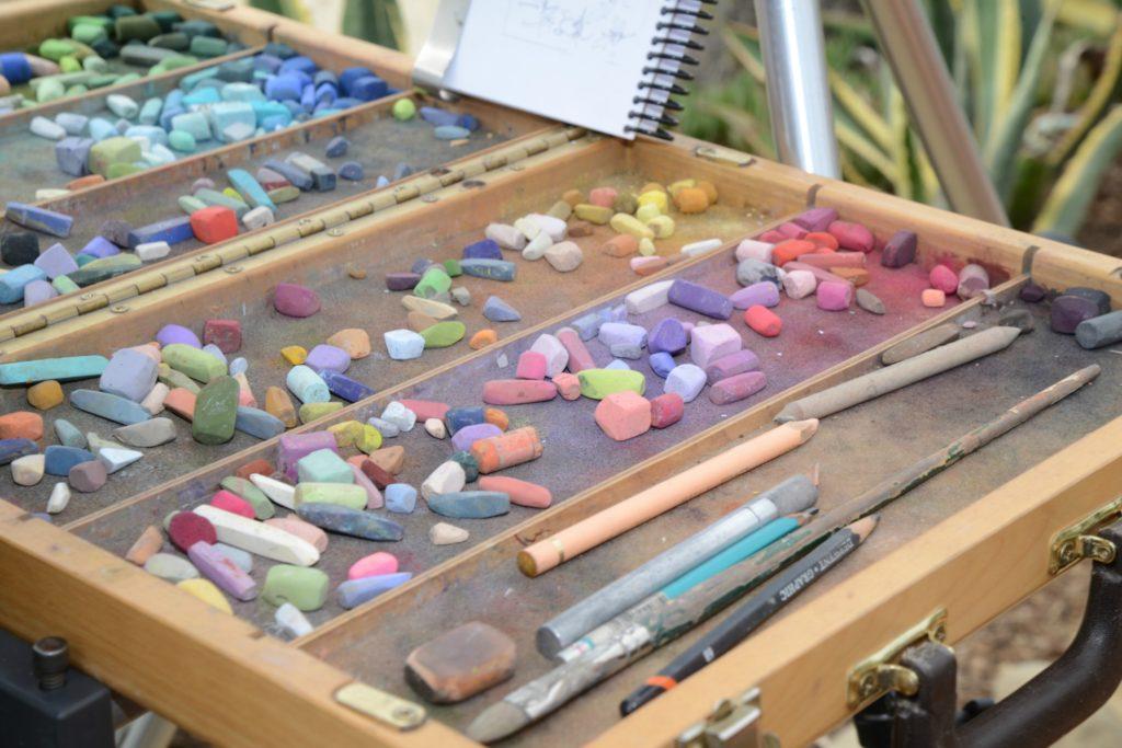 Plein Air Pastel Artist Clark Mitchell