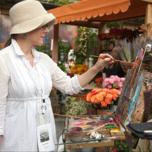 Laguna Plein Air Invitational Artist Suzie Baker