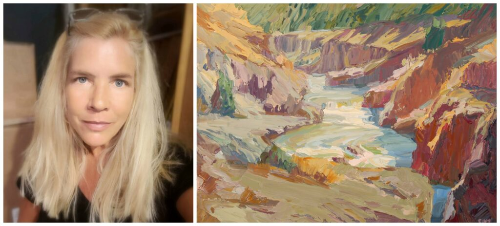 Laguna Plein Air Invitational Artist Carole Gray-Weihman