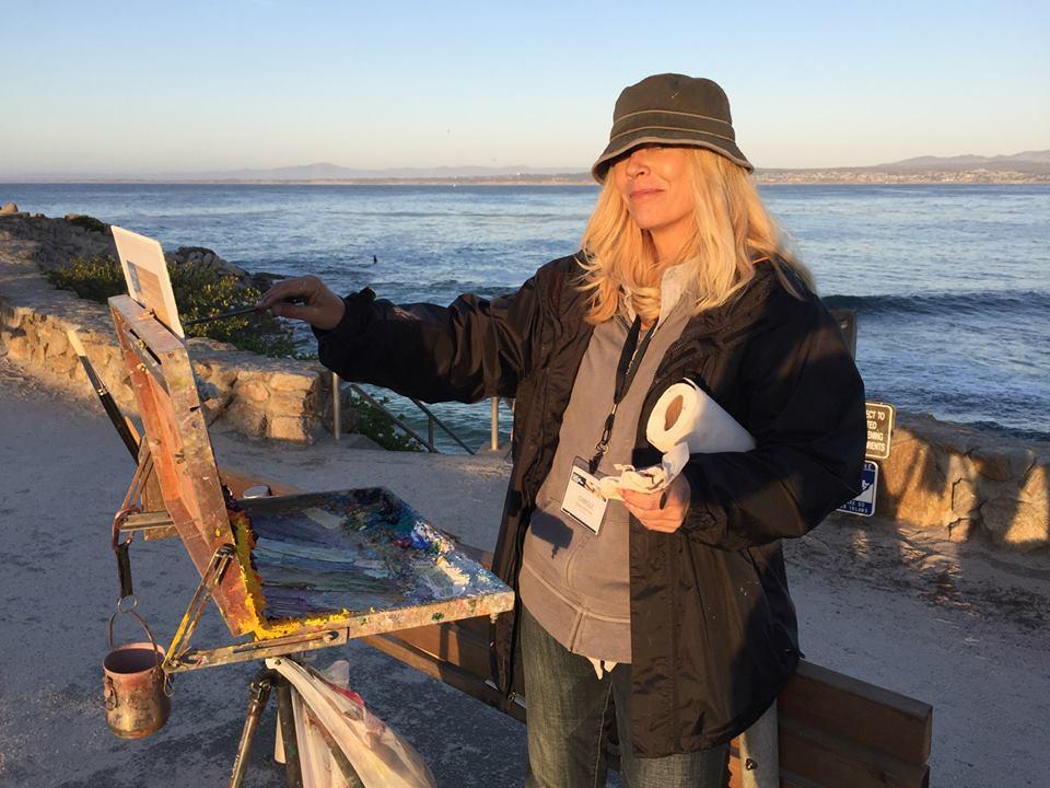 Laguna Plein Air Artist Carole Gray-Weihman