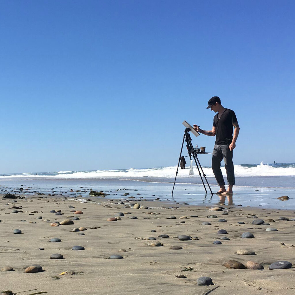 Laguna Plein Air Invitational Artist Judd Mercer