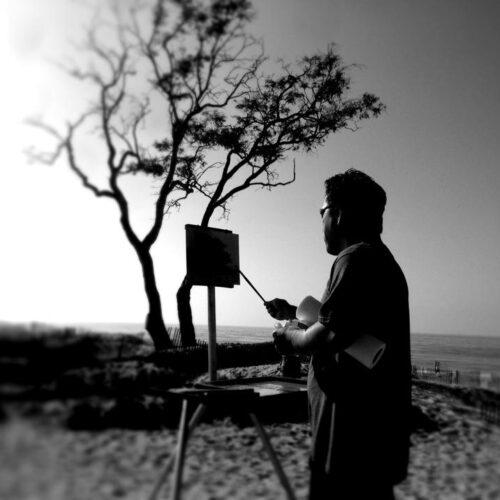Laguna Plein Air Invitational Artist Terry Miura